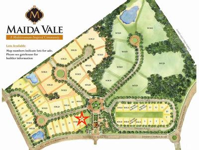 Durham County Residential Lots & Land For Sale: 3 Cortona Drive