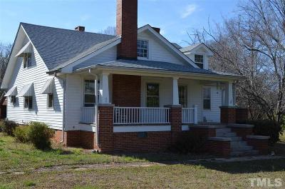 Pittsboro Single Family Home Contingent: 580 Sanford Road
