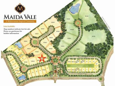 Durham County Residential Lots & Land For Sale: 6 Cortona Drive