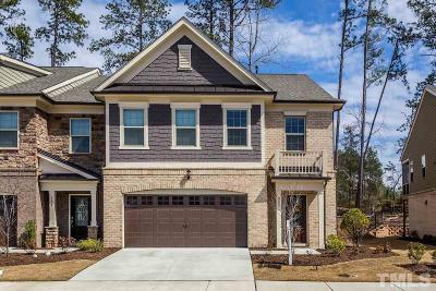 Cary NC Townhouse For Sale: $412,500