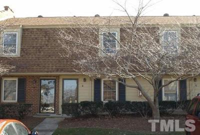 Raleigh NC Townhouse Contingent: $105,000