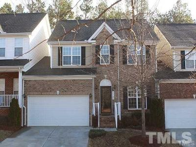 Wake County Townhouse For Sale: 12106 Fox Valley Street
