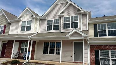 Wake County Townhouse For Sale: 7811 River Field Drive