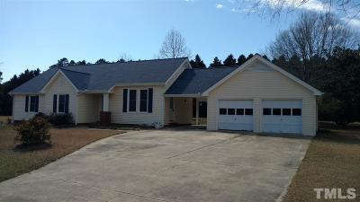Raleigh NC Single Family Home For Sale: $189,900