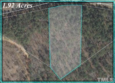 Harnett County Residential Lots & Land For Sale: Lot 2 South River Road