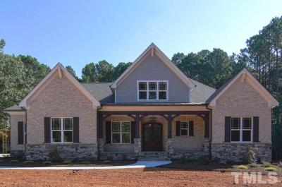 Wake Forest Single Family Home For Sale: 2049 Pleasant Forest Way