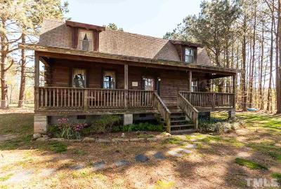 Durham County, Franklin County, Granville County, Guilford County, Johnston County, Lee County, Nash County, Orange County, Wake County Single Family Home For Sale: 1094 Nc 58 Highway