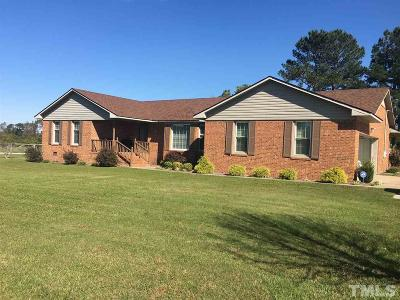 Sampson County Single Family Home For Sale: 2524 Hb Lewis Road