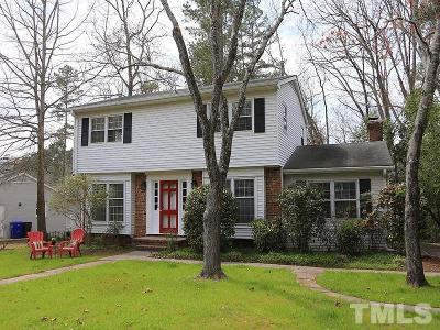 Chapel Hill Single Family Home Contingent: 402 Knob Court