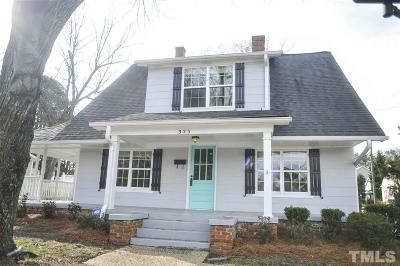 Single Family Home For Sale: 323 W Chatham