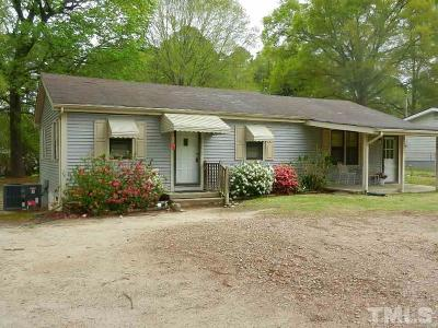 Knightdale Single Family Home For Sale: 2152 Marks Creek Road