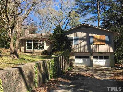 Chapel Hill Single Family Home Pending: 106 Cherokee Circle
