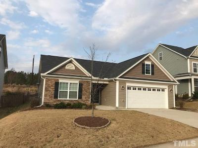Holly Springs Single Family Home Contingent: 232 Sweet Violet Drive