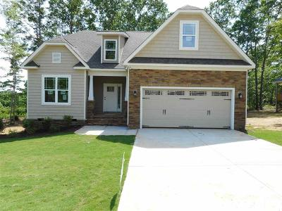 Youngsville Single Family Home For Sale: 125 Lockamy Lane