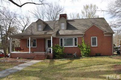 Siler City Single Family Home Pending: 412 S Second Avenue
