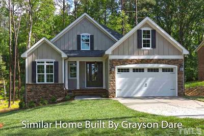 Chapel Hill Single Family Home For Sale: 001 Curlew Drive