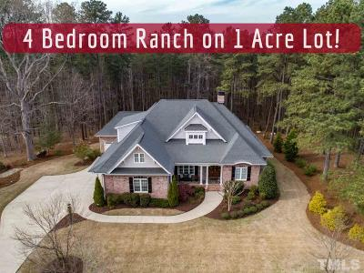 Wake Forest Single Family Home For Sale: 5604 Bella Terra Court