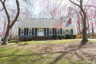 Durham Single Family Home Contingent: 708 Clarion Drive
