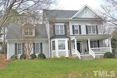 Holly Springs Single Family Home For Sale: 129 Brightling Way