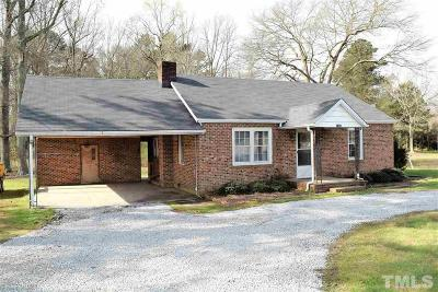 Johnston County Single Family Home For Sale: 11370 E Nc 42 Highway