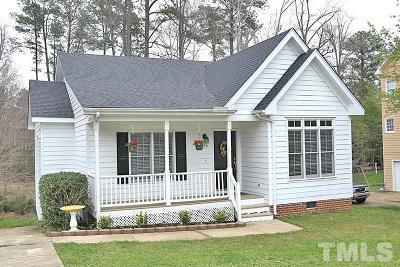 Wake Forest Single Family Home Pending: 209 Yellow Poplar Avenue