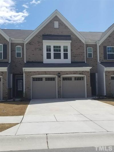Morrisville Townhouse For Sale: 533 Durants Neck Lane
