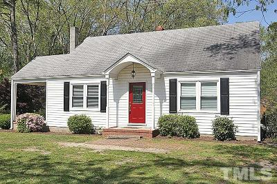 Knightdale Single Family Home For Sale: 519 Fayetteville Street