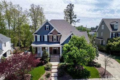 Cary Single Family Home Contingent: 924 Alden Bridge Drive