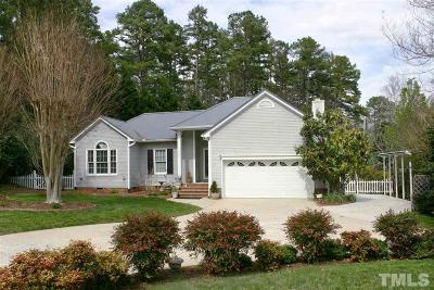 Chapel Hill Single Family Home Contingent: 2123 Fountain Ridge