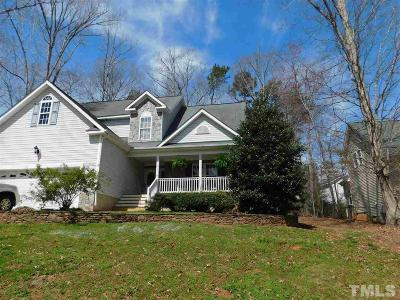 Louisburg Single Family Home For Sale: 1110 Sagamore Drive