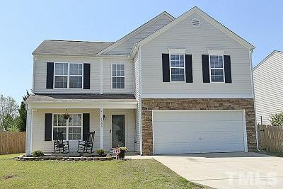 Johnston County Single Family Home For Sale: 4000 Satinwood Drive