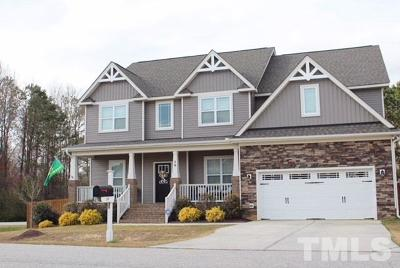 Clayton Single Family Home For Sale: 19 Willow Oak Trail