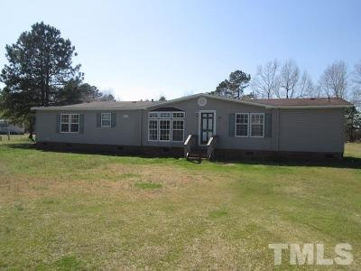 Sampson County Manufactured Home For Sale: 150 Red Tip Lane