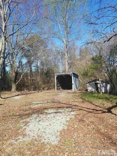 Durham County Residential Lots & Land Contingent: 3724 Old Chapel Hill Road