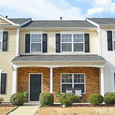 Knightdale Townhouse Contingent: 624 Laurens Way