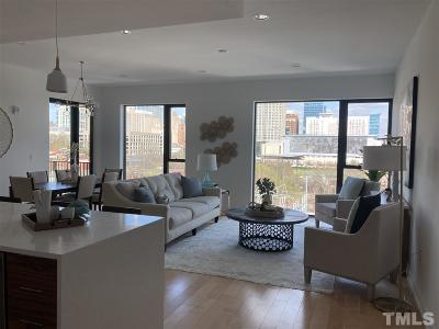 Wake County Condo For Sale: 525 S West Street #406