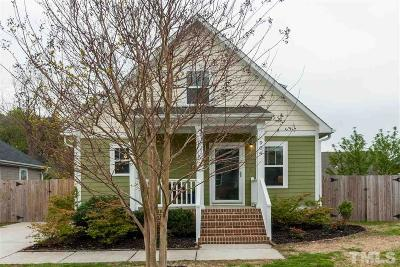 Raleigh Single Family Home Contingent: 904 Dorothy Sanders Way