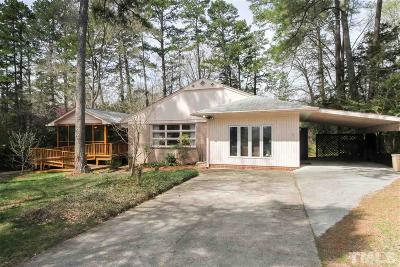 Chapel Hill Single Family Home Contingent: 709 Williams Circle