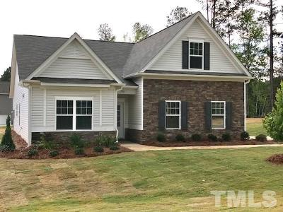 Sanford Single Family Home For Sale: 106 Mill Run Drive #Lot #22