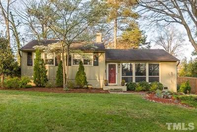 Raleigh NC Single Family Home Contingent: $350,000