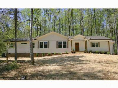 Chapel Hill Single Family Home For Sale: 5317 Walnut Cove Road