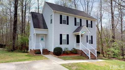 Knightdale Single Family Home Contingent: 805 Southampton Drive