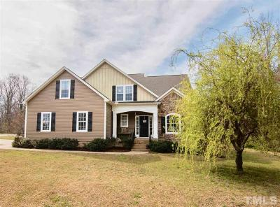Willow Spring(s) Single Family Home Contingent: 2420 Rolling Tracks Road