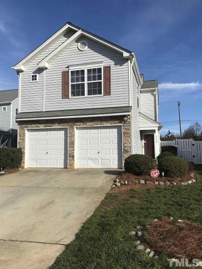 Durham Single Family Home Contingent: 5408 Roan Moutain Place Place