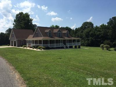 Chatham County Single Family Home For Sale: 1851 White Smith Road