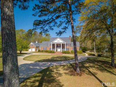 Angier Single Family Home For Sale: 70 Swan Lane