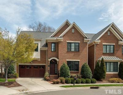 Chapel Hill Townhouse For Sale: 301 Old Franklin Grove