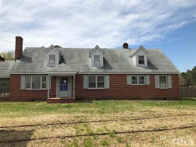 Spring Hope Single Family Home Contingent: 3426 N Nc 581 Highway