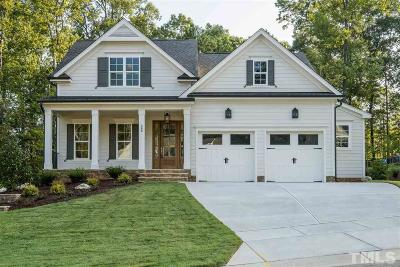 Fuquay Varina Single Family Home For Sale: 308 Sunset Glade Circle