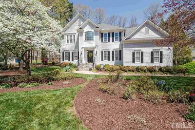Raleigh Single Family Home Contingent: 1525 Whittington Drive